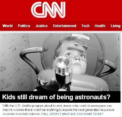 CNN Story About Future Space Flight