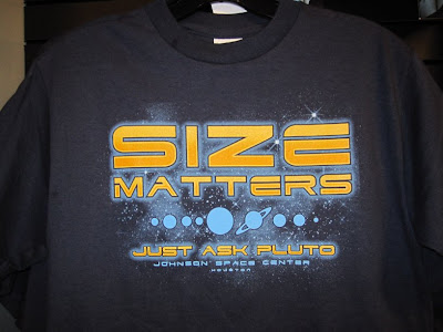Size Matters Just Ask Pluto
