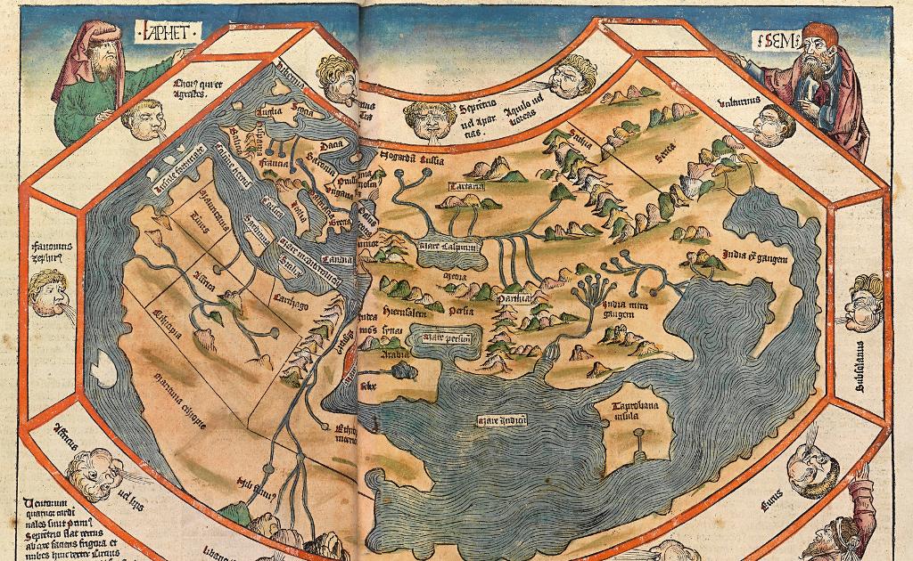 15th Century World Map Ancient World Maps: World Map 15th Century