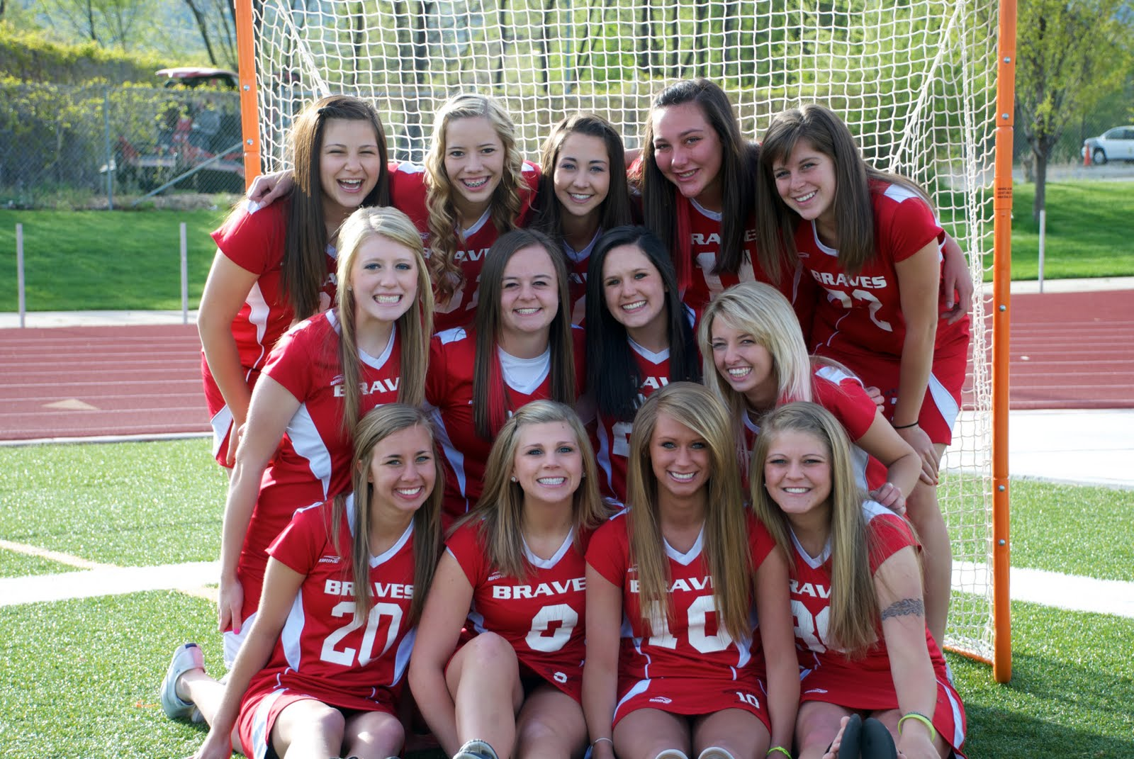 Your nude girls lacrosse team very talented