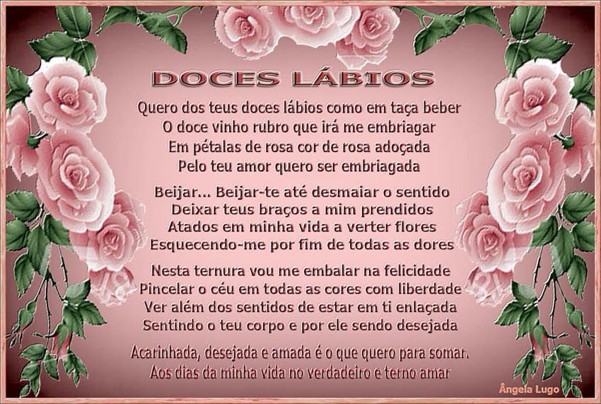 DOCES LÁBIOS