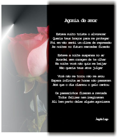 Agonia de amor