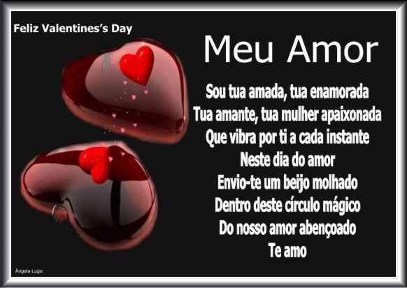 Mensagem do dia ((Valentine's Day)