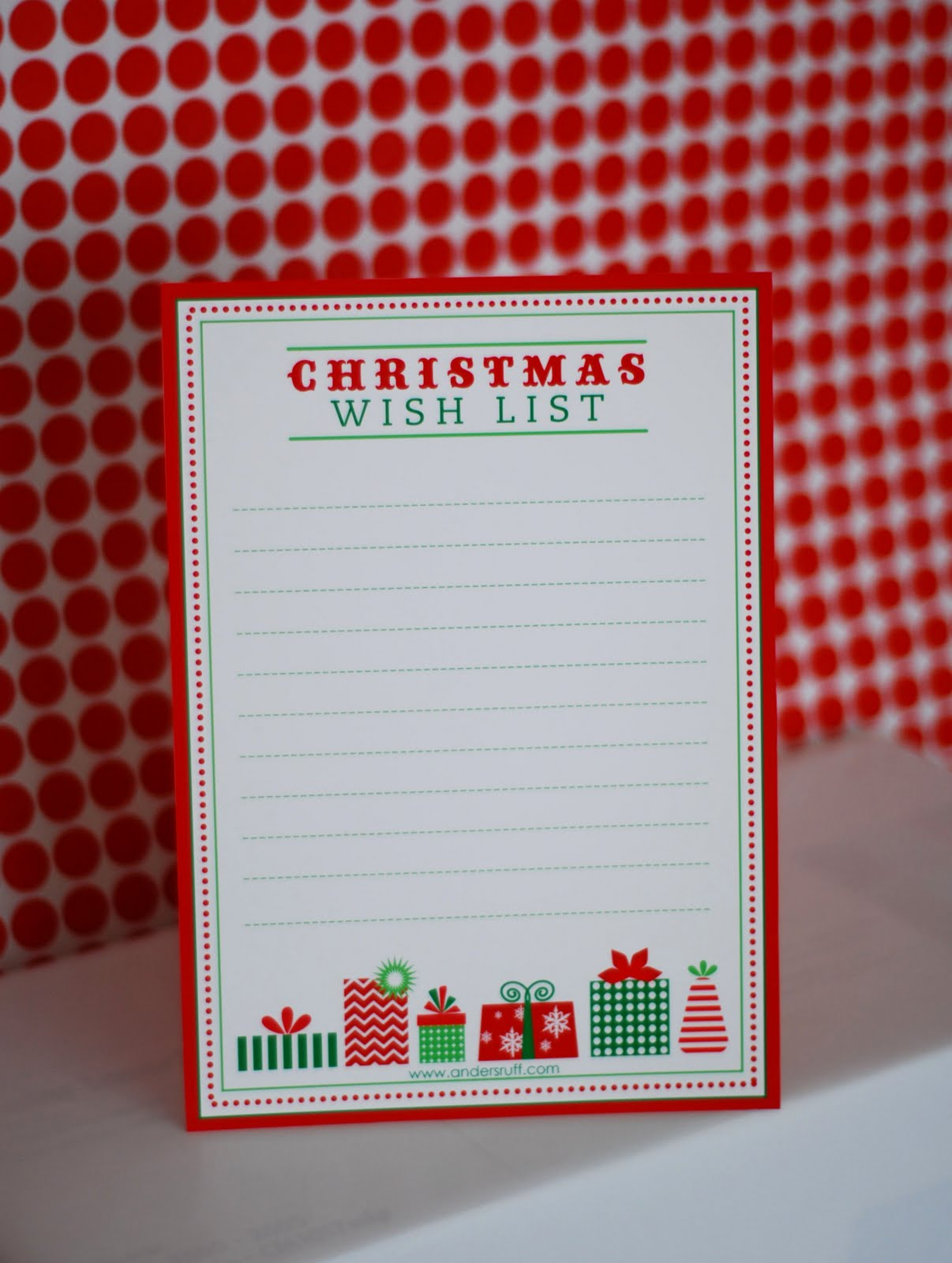 Free Printable Letter To Santa Wish List And Gift Tags