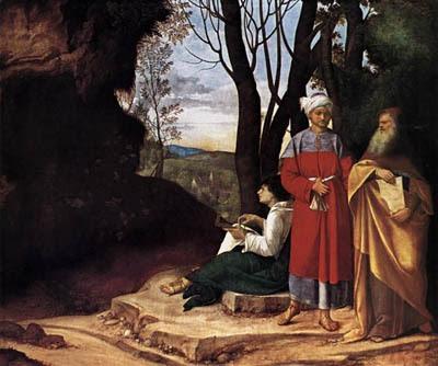 Giorgione: Los Tres Filósofos.