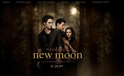 The twilight Saga New Moon Official Website