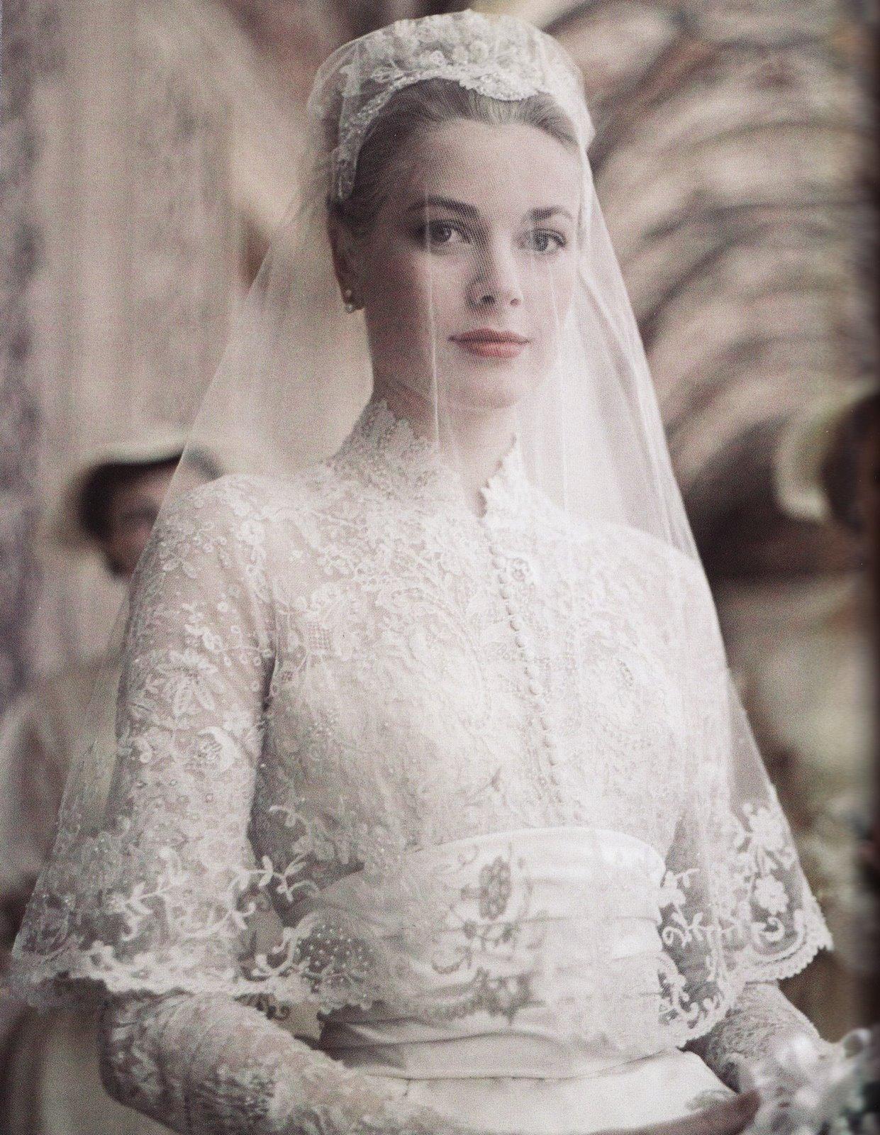 Grace Kelly weds Prince Rainier III of Monaco