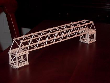 build any toothpick bridge