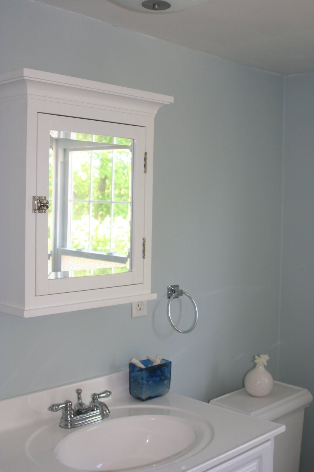 ERIN WALSH DESIGN: Bathroom Painting Done