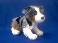 australian shepherd plush stuffed animal driver douglas