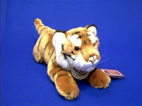 tiger plush stuffed animal toy classic
