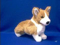 sable welsh corgi plush stuffed animal