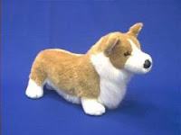 large welsh corgi plush stuffed animal pembroke