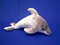 dolphin plush stuffed animal toy