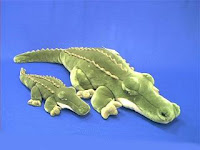 jumbo large alligator plush stuffed animal
