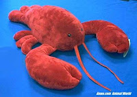 jumbo large lobster plush stuffed animal