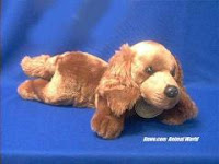 Large Irish Setter Plush Stuffed Animal