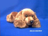 Irish Setter Plush Stuffed Animal Small