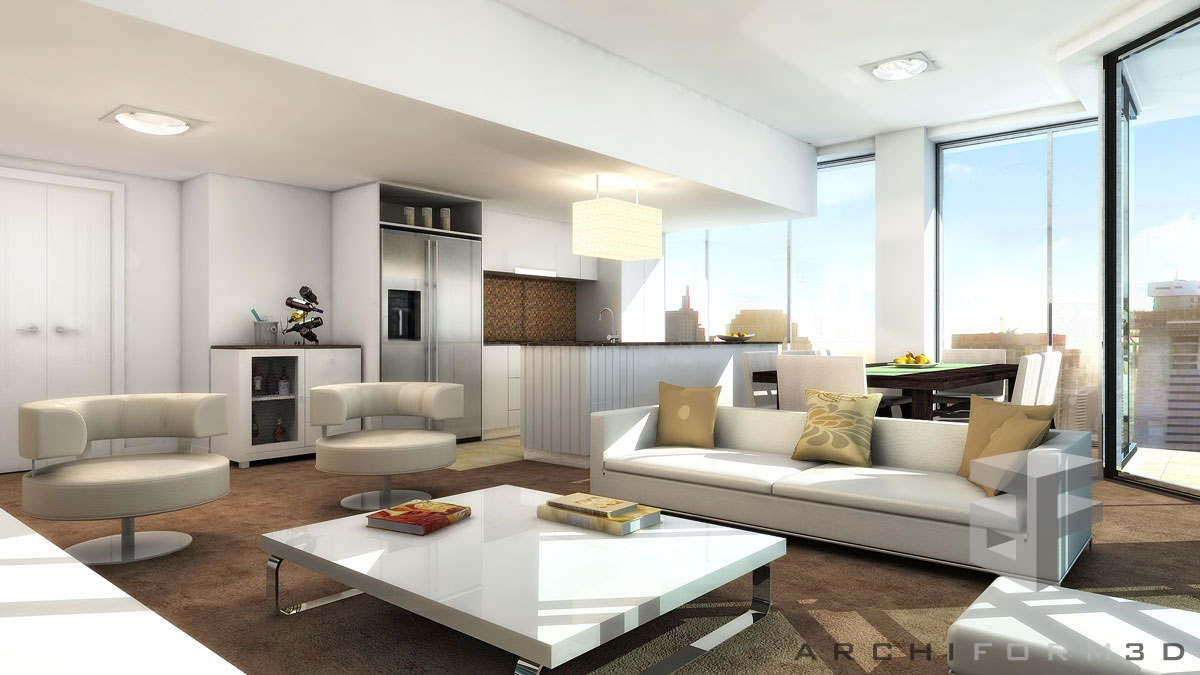 3d Rendering Services: Architectural A 3D MODEL Rendering