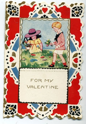 another 1924 children's Valentine, front