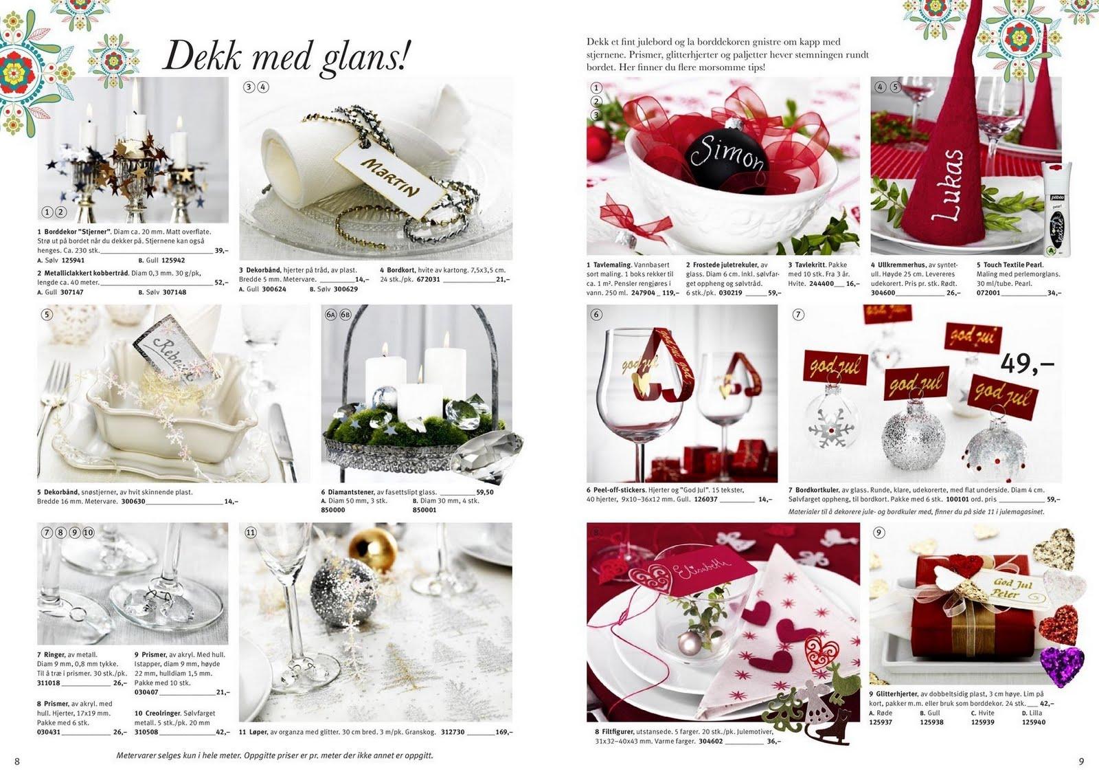 9fc69d8b Nydelige bokser, servietter og gavepapir. :) Det finnes også gode ideer til  juleverkstedet, juletrepynt, gaveinnpakning og borddekning.