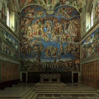 Visita virtual a la Capilla Sixtina en la Ciudad del Vaticano
