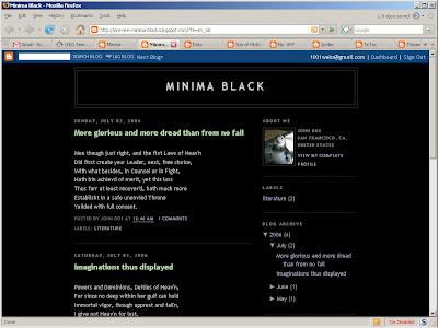 1001 templates: minima black.