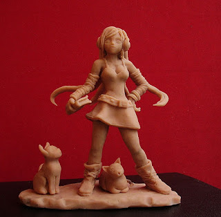 manga girl action figure