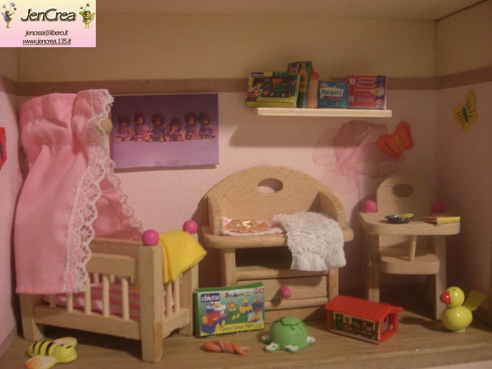 Jen crea creazioni di tutto e un p una mini cameretta for Crea cameretta