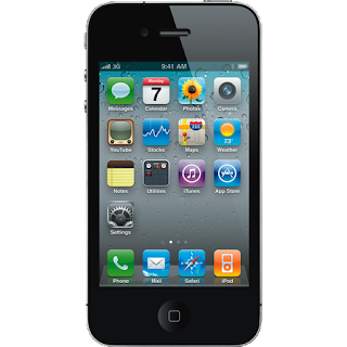 handphone: Apple iPhone 4 16GB Black
