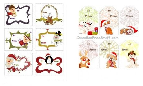 What S On My Mind Free Printable Christmas Gift Tags So Cute