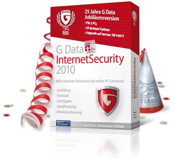 Free Download (lisensi 180 hari): G Data Internet Security 2010