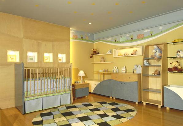Dormitorios para bebes amplio dormitorio para bebe de for Recamaras para bebes