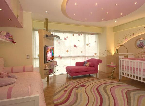 Precioso cuarto para la nena by karim chaman via www for Ideas para cortinas infantiles