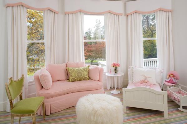 dormitorio para nia en colores pastel