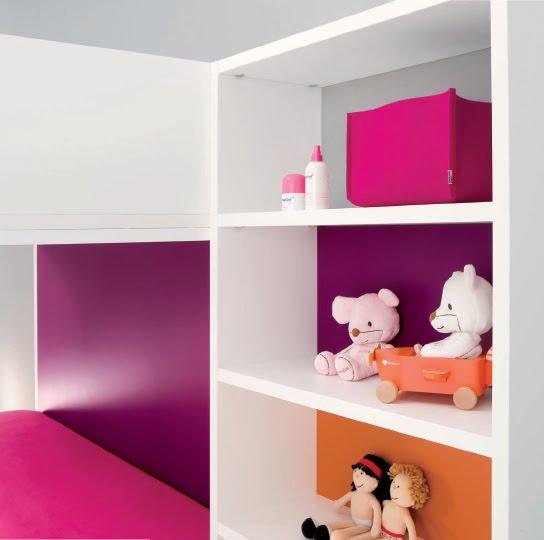 Dormitorios infantiles minimalistas recamaras minimalistas - Cuartos infantiles nino ...