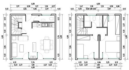 planos de casas de 5x5