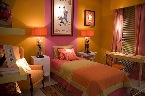 Dormitorios de mujeres - Colores de pared para habitacion ...
