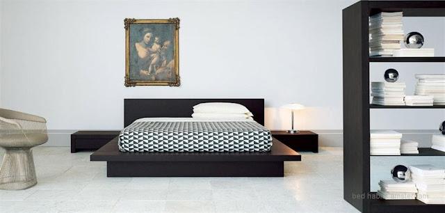 Decoracion minimalista en dormitorio crema con tonos tierra - Dormitorios juveniles minimalistas ...