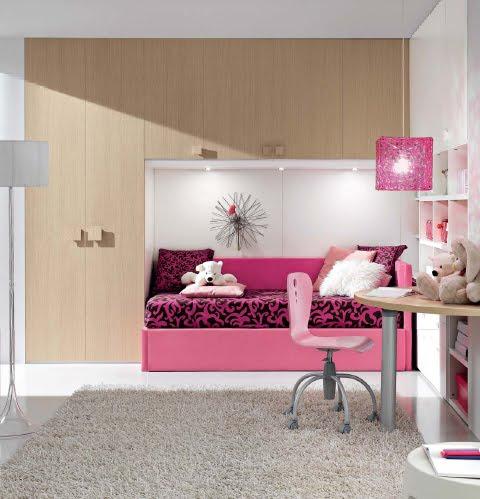 Dormitorio fucsia rosado para ni as y jovencitas for Cuartos de ninas fucsia