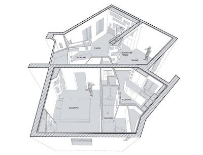 Planos de casa en 60m2 de 6 habitaciones planos de casas for Precio reforma piso 60 metros