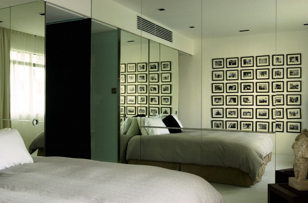 Espejos en el dormitorio como usar los espejos para for Espejos modernos para habitaciones