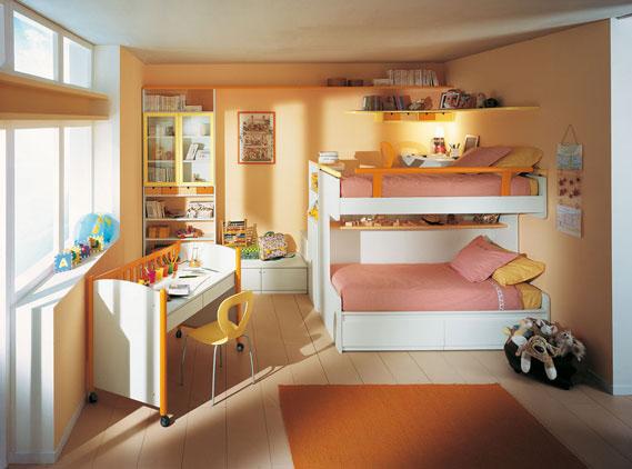 Medidas de seguridad para dormitorios infantiles con - Medidas camas infantiles ...