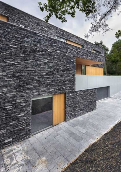 Fachadas de piedras fachadas de casas y casas por dentro - Casas exteriores ...