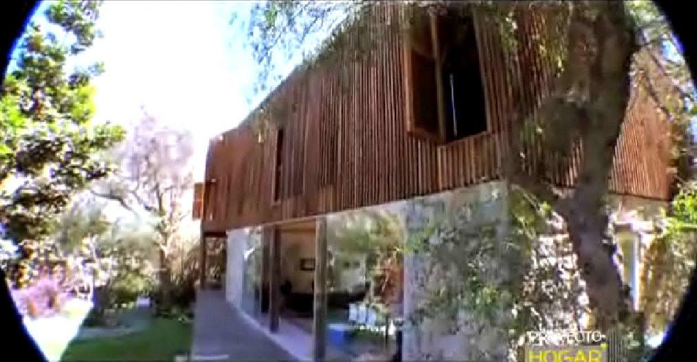 Casa de arquitectura fusion fachadas de casas y casas - Casas de campo por dentro ...