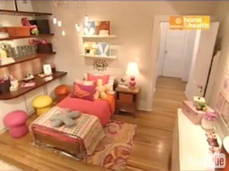 Video que muestra un bello dormitorio infantil para ni a for Diseno de habitaciones online