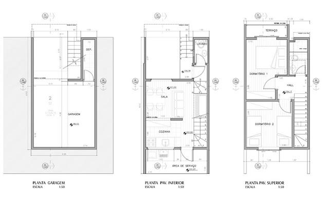 Planos de condominios de casas de 46m2 planos de casas for Viviendas pequenas