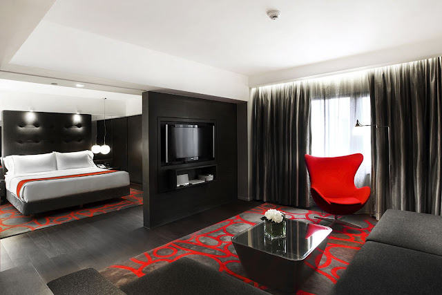 Dormitorios elegantes - Cuartos de bano grandes ...
