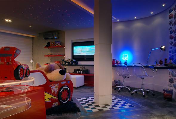 Dormitorio rayo mcqueen cars - Habitaciones infantiles ninos 4 anos ...