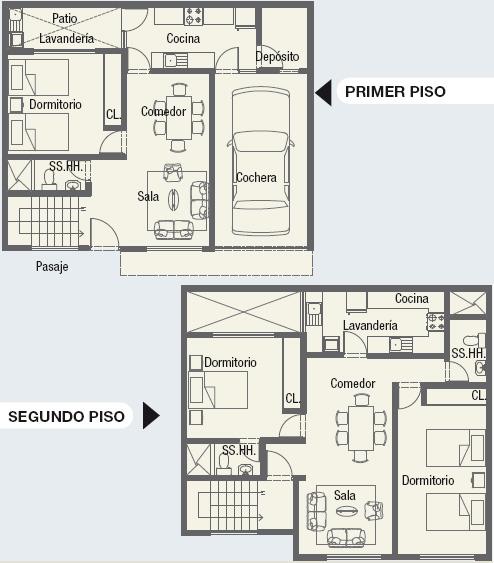 Planos de minidepartamentos planos de casas gratis y - Plano piso 50 metros ...